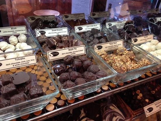 Spinnakers Brewpub and Guesthouses: they make their own chocolates
