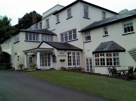 Best Western Exeter Lord Haldon Country Hotel: l'hotel