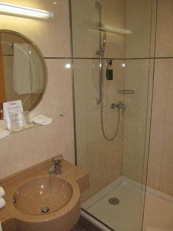Hotel Parc Plaza: bathroom