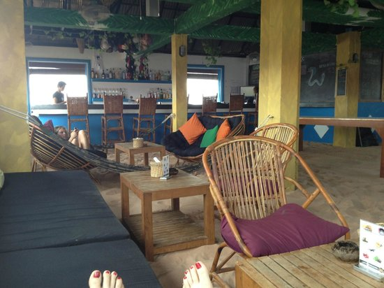 Mad Monkey Hostel Siem Reap: Top Banana during the day