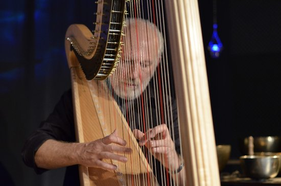 Luc Vanlaere Harpist: At the Bruges Concert ( Greta Vermeersch )