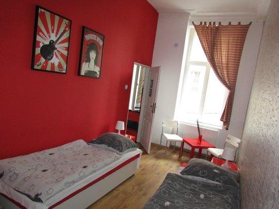 Retro Hostel: Our room