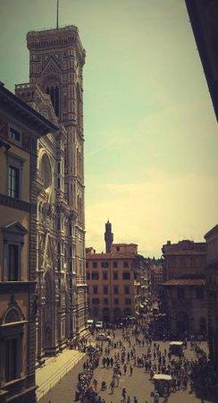 Palazzo Ruspoli : veduta dalla camera