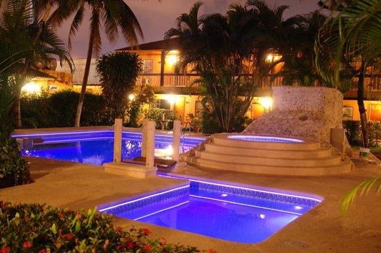 Hotel Los Andes: Alberca de noche