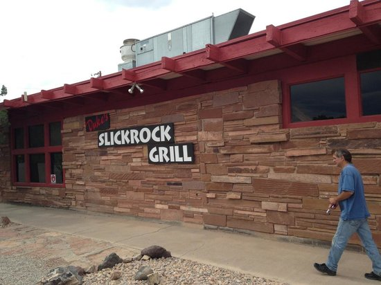 Duke's SlickRock Grill : Great hamburgers!