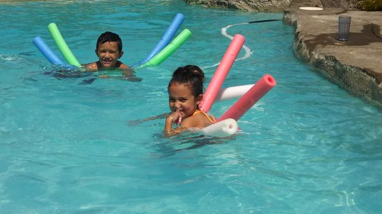 Lai Nani Resort: Children had a blast