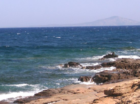Alisaxni Resort: the seashore - just five minutes by foot