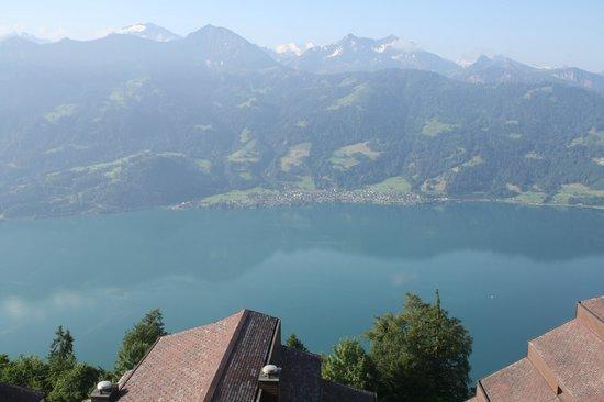 Dorint Bluemlisalp Beatenberg/Interlaken: View from our room