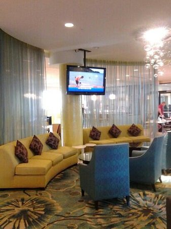 SpringHill Suites by Marriott Orlando at SeaWorld: lobby