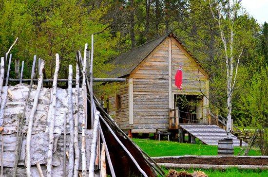 Grand Portage National Monument: Canoe Warehouse