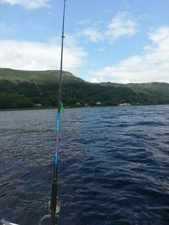 St. Fillans Boat Hire: great day on the loch.