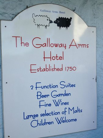 Kiloran B&B: Galloway Arms