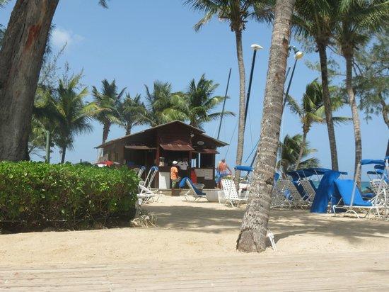 Turtle Beach by Elegant Hotels: Captain Sams Watersports