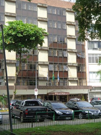 Golden Park Hotel: frente do Hotel