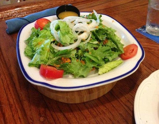 Mr. C's Food & Spirits : big salad