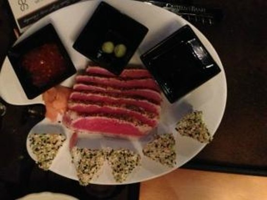 Casagranda's Steakhouse: Ahi tuna app