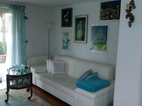 Ferienwohnung Purucker : sala de estar
