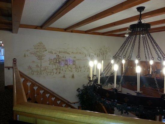 Chalet Landhaus: 2nd floor lobby