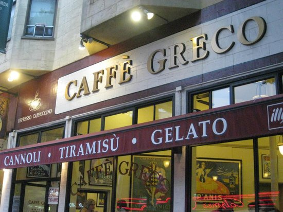 Photo of Italian Restaurant Caffe Greco at 423 Columbus Ave, San Francisco, CA 94133, United States