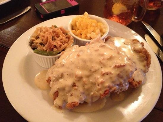 Canyon Southwest Cafe: chicken fried steak