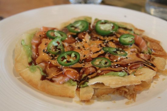 Xina: Salmon Tortilla