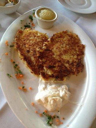 Austrian-German Restaurant: Potato Pancakes