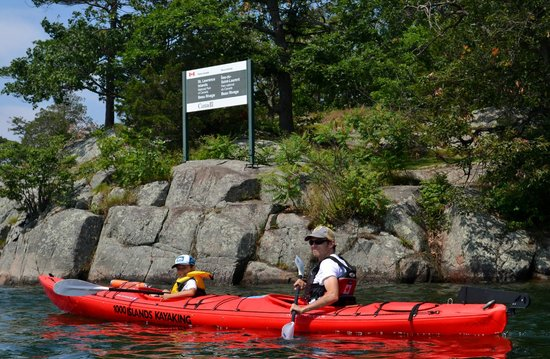 Mallorytown, Kanada: Paddling amongst the islands