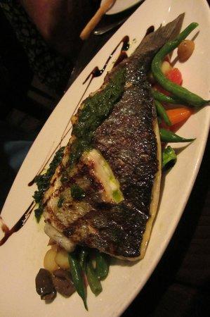 Edward Street Bistro: Grilled Seabass
