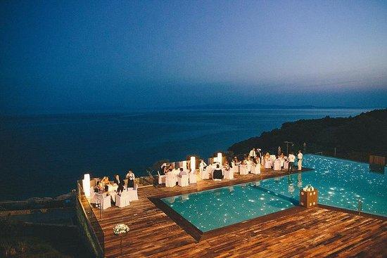 Adrina Resort & Spa: Wedding night - pool view