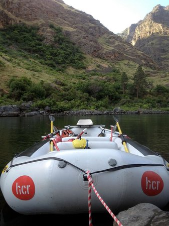 Hells Canyon Raft: Paddle Boat