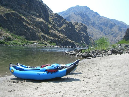 Hells Canyon Raft: Kayak