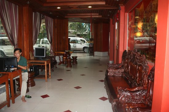 Asia Hotel: hotel lobby