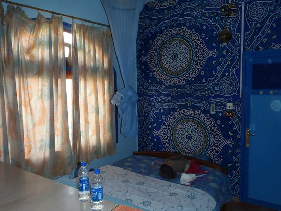 Bet el Kerem: our cute little room - with amazing AC!