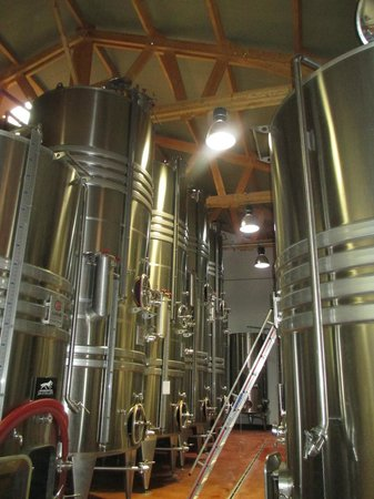 Azur Wine Tours : Wine storage tanks