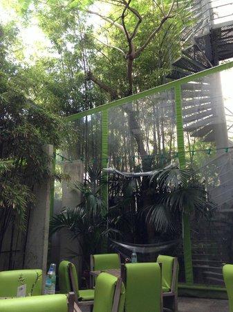 Spity Hotel Nice: Green patio