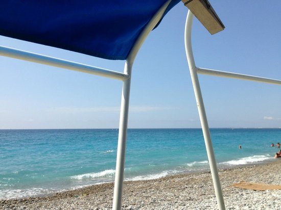 Spity Hotel Nice: Private beach