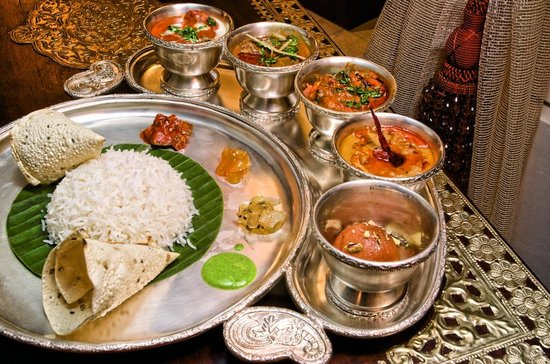 Thali business lunch picture of chutney 39 s dubai - Chutneys indian cuisine ...