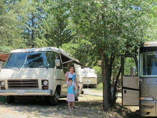 Yosemite Westlake Campground and RV Park : Campsites