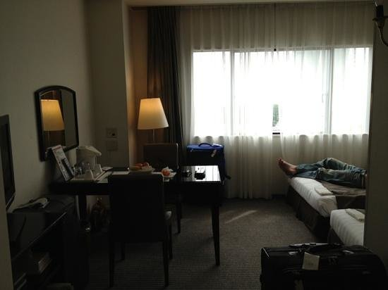 Hotel Francs: comfortable space twin room