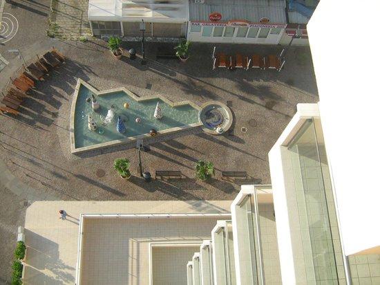 Terminal Palace & SPA: Bird's eye view..