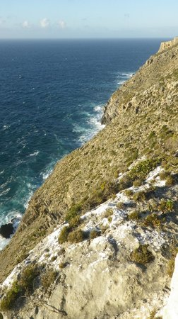 Cape Borda Lightstation: View from lookout - difficult walking track