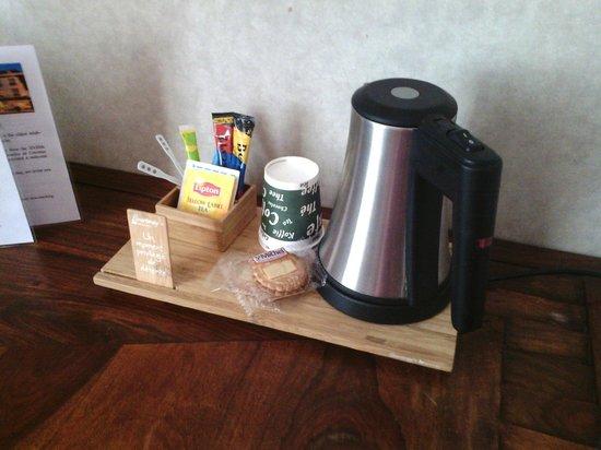 Le Vert Galant : plateau thé/café