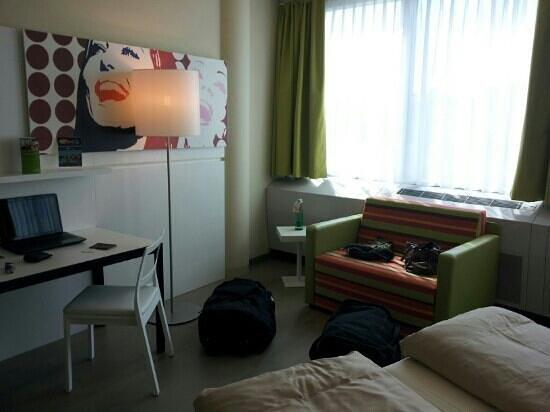 Harry's Home Hotel Wien Millennium Tower: Zimmer