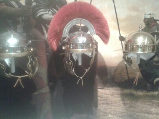 Roman Army Museum: Roman Helmets