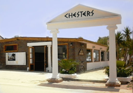 Chesters On The Beach: Find us in the heart of Kampos