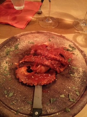 Octopus with smoked paprika - Picture of Assirto, Moneglia ...