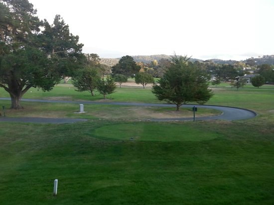 Hyatt Regency Monterey Hotel and Spa on Del Monte Golf Course: View out our window