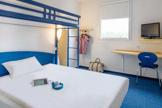 Ibis Budget Flensburg Handewitt: Zimmer mit Etagenbett