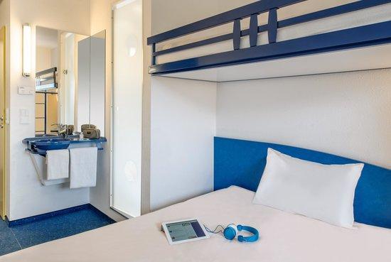 Ibis Budget Flensburg Handewitt: Zimmer mit Dusche/WC