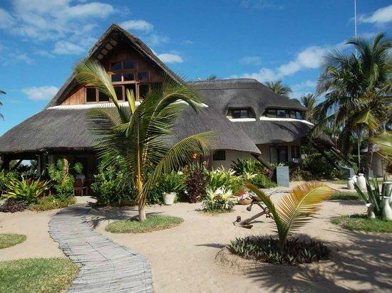 Barra Beach Club: dinning, lounge and bar building